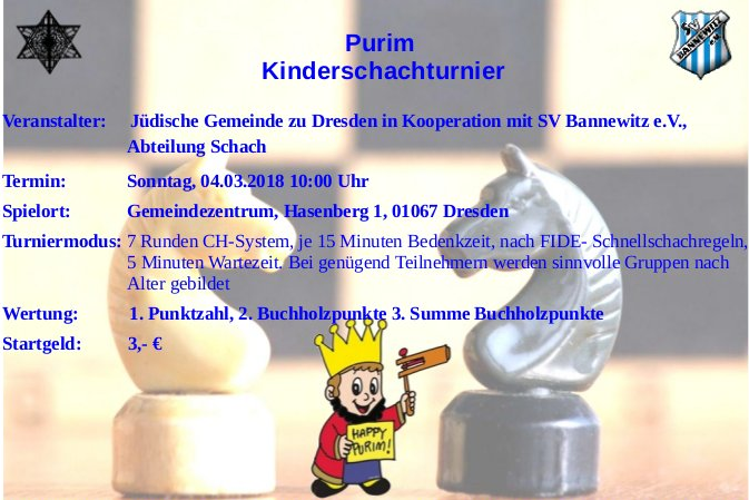 Purim Turnier 2018