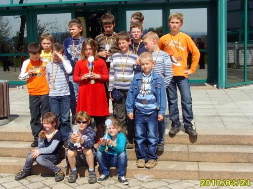 Possendorfer Kinder beim Schulschachturnier in Pirna