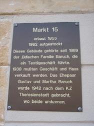 am Sebnitzer Marktplatz entdeckt